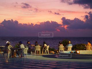 綺麗な夕陽の写真・画像素材[1271959]