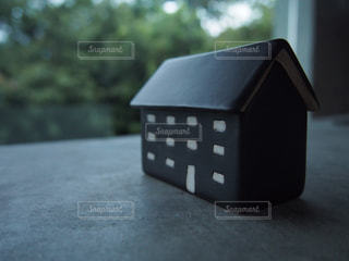 木製テーブルの写真・画像素材[1009984]