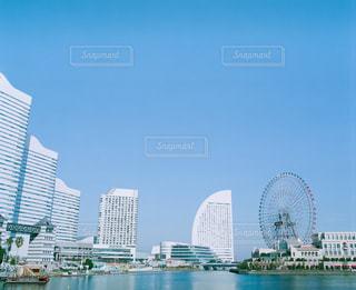 海,レトロ,横浜,フィルム,みなとみらい,雰囲気,カラー,自然光,フィルム写真,フィルムフォト