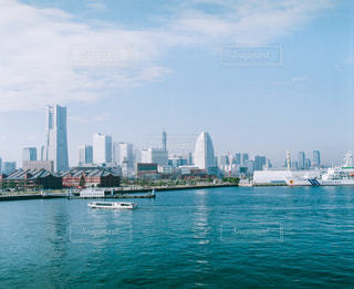風景,海,レトロ,旅行,横浜,フィルム,みなとみらい,雰囲気,カラー,自然光,フィルム写真,フィルムフォト