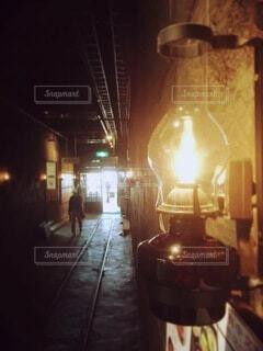 ランプの写真・画像素材[3709084]