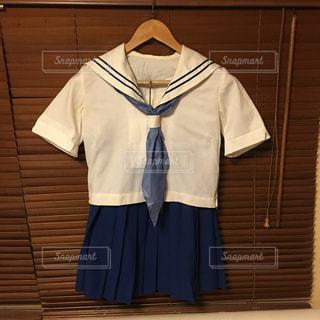 高校の夏の制服の写真・画像素材[1119694]