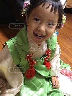 笑顔の女の子の写真・画像素材[1163804]