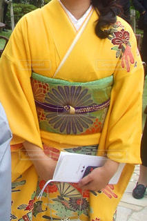 黄色,着物,和服,イエロー,黄,yellow