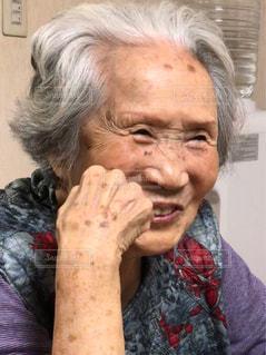 おばあちゃん94歳の写真・画像素材[2828701]