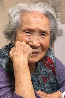 94歳のおばあちゃんの写真・画像素材[2828726]