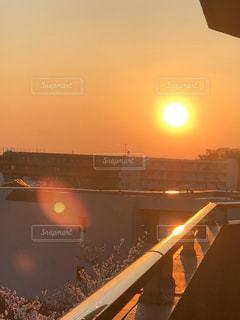 空,太陽,景色,光,日の出,早朝