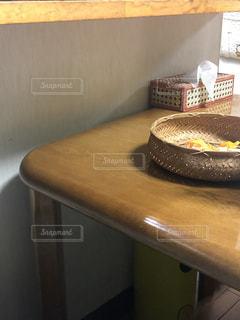 リビングのテーブルの写真・画像素材[2938317]