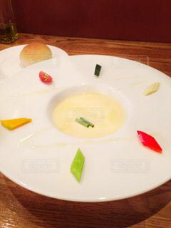 食事,ランチ,カラフル,スープ,外食,前菜,中目黒,bistro K
