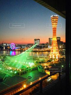 神戸の夜景の写真・画像素材[786571]