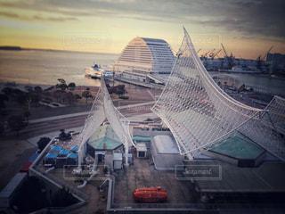 静寂に包まれる神戸海洋博物館の写真・画像素材[786592]