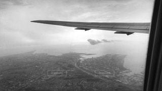上空からの景色の写真・画像素材[820038]