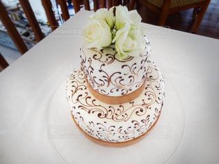 ウェディングケーキの写真・画像素材[826445]