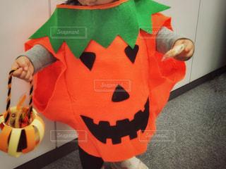 かぼちゃおばけでトリックオアトリート!の写真・画像素材[867391]