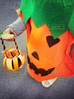 かぼちゃおばけでトリックオアトリート!の写真・画像素材[867397]
