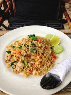 タイ風焼き飯の写真・画像素材[922185]