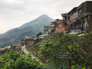 台湾/九份からの景色の写真・画像素材[947912]