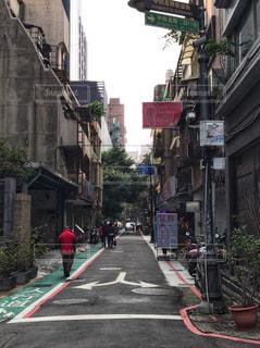 台北の路地の写真・画像素材[951242]