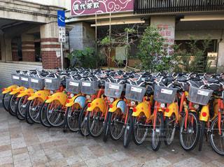 レンタル自転車の写真・画像素材[951308]