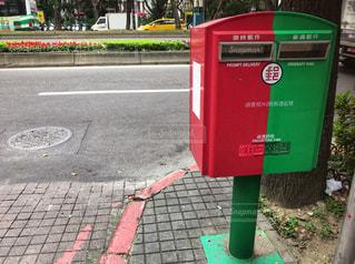 台北にある郵便ポストの写真・画像素材[951380]