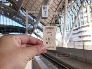 旅先の切符の写真・画像素材[951796]