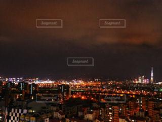 夜の街の景色の写真・画像素材[953243]