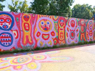 カラフルな壁画 - No.953306