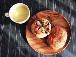 パンとスープの写真・画像素材[1038510]