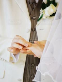 指輪交換の写真・画像素材[1234751]