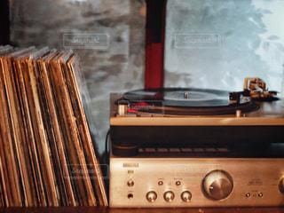 レコードの写真・画像素材[1637539]