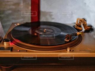バーのレコードの写真・画像素材[1637540]