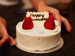 バースデーケーキの写真・画像素材[1675411]