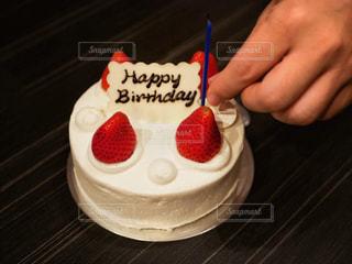 お誕生日おめでとうの写真・画像素材[1675413]