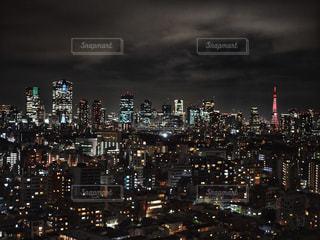 開業60周年の東京タワーの写真・画像素材[1689362]