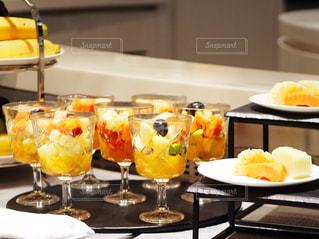 食べ物,カラフル,フルーツ,果物,グラス,果実,新鮮,フルーツポンチ,フレッシュ,カットフルーツ