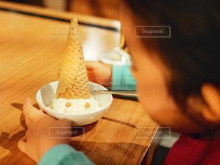 可愛いアイスの写真・画像素材[1955150]