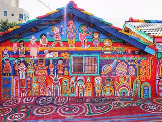 彩虹村の写真・画像素材[2230202]
