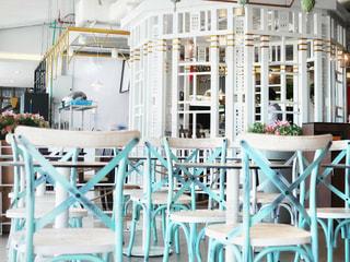 夏のカフェの写真・画像素材[2251887]