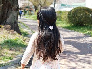 さらさら髪の写真・画像素材[2301394]