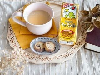 豆乳飲料キャラメルの写真・画像素材[3812358]