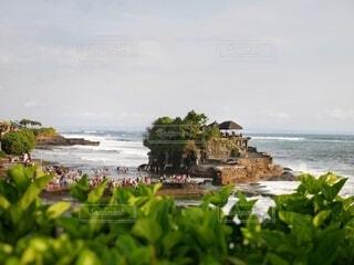 バリ島のタナロット寺院の写真・画像素材[4790936]