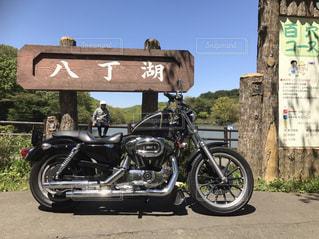バイクの写真・画像素材[2072757]