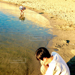 兄弟で水遊び - No.655688