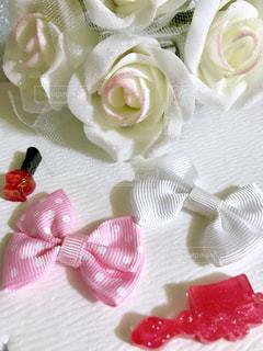 インテリア,薔薇,リボン,白薔薇,デコ,素材,りぼん