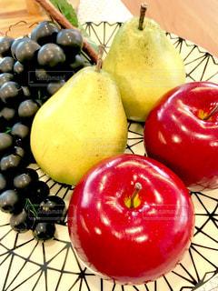 食べ物,フルーツ,果物,りんご,林檎,果実,ブドウ,葡萄,洋梨,ラフランス,食材,食品サンプル,ぶどう,デラウェア,リンゴ