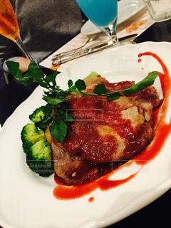 ディナー,お酒,料理,おいしい,お肉