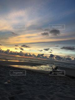 自然,風景,空,夕日,夕焼け,景色,マレーシア,夕陽