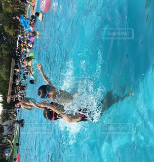 プールの写真・画像素材[675793]