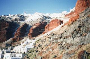 ギリシャ サントリー島の写真・画像素材[704879]