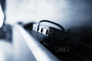 列車のクローズアップの写真・画像素材[4639559]